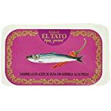 Calle el Tato Petite Sardine à l'Huile d'Olive/au Piment 16/20 115 g