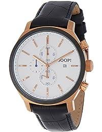 Joop Herren-Armbanduhr XL Phenomenon Chronograph Quarz Leder JP100931F07