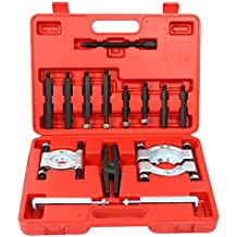FreeTec–14piezas Juego de 2extractores de cojinetes Pol Rueda Extractor–Juego cuchillos corte Rodamientos Extractor Incluye maletín