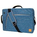 Vangoddy Ardoise 3en 1hybride sacoche pour ordinateur portable jusque 39,6cm PC portables et tablettes (Vgslate15blu) 13-14 inch bleu