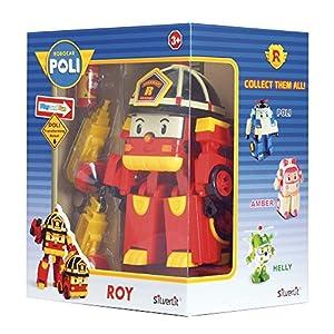 Rocco Juguetes 83093-Robocar Poli Roy, Personaje Convertible con Luces
