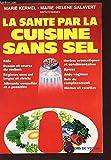 La santé par la cuisine sans sel
