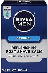 NIVEA FOR MEN Replenishing Post Shave Balm 3.30 oz (Pack of 4)