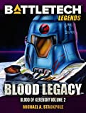Front cover for the book Blood Legacy by Michael A. Stackpole