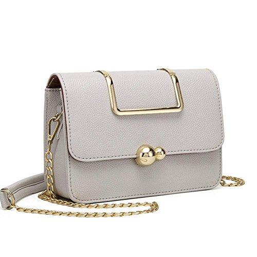 GBT Freizeit Taschen portable Schulter-Diagonalhandtaschen gray
