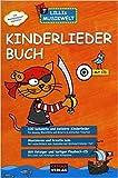 Kinderliederbuch Lillis Musikwelt Songbook mit 100 bekannten und beliebten Kinderliedern für Gesang, Blockflöte und Gitarre in einfachen Tonarten mit bunter herzförmiger Notenklammer - HH1017 - 4026929917546