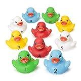 Contar patos de goma Tiempo Diversión y Aprendizaje en el Baño, Números de Aprendizaje Gran Remar...