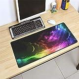 Unterstützung großen Overlock Rand Meer Mauspad rutschfeste Computer Matte Größe Gummi-Mauspad, um Ihren Tisch 3 400X900X3MM zu schmücken