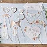 Ginger Ray Mariage photobooth Prop - 10 accessoires - Superbe Botanics