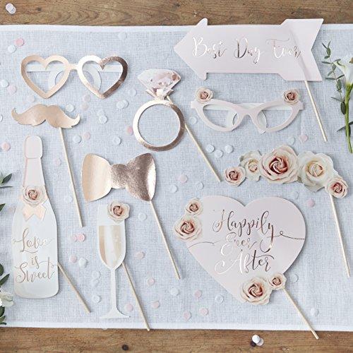 Requisite für Hochzeitsfotobooth - 10 Requisiten - Schöne Botanik