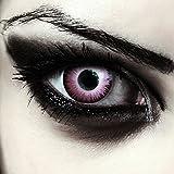 Lenti a contatto colorate rosa elfo per halloween, morbide, non corrette modello: 'Pink Elfe'