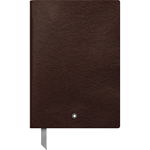 Montblanc Notebook 113590 Fine Stationery #146 Tobacco / Elegant Soft Cover Journal / Lined Notebook with Leather Binding / A5