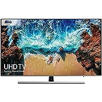 """Samsung UE49NU8000TXZT Smart TV 4K Ultra HD 82"""" Wi-Fi Nero, DVB-T2CS2 Serie 8 NU8000,  [Classe di Efficienza Energetica A], 3840 x 2160 pixels, Nero, Argento (2018)"""