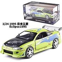 Preisvergleich für XIAOLUDIAN Zurück zu Schule JADA Jiada 1:24 Geschwindigkeit und Leidenschaft 8 Dodge Ma Ma Nissan Laiken R35 Simulation Auto Modell Spielzeug (Ausgabe : 1995 Eclipse)
