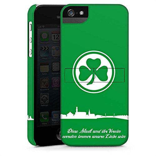 Apple iPhone 5s Tasche Hülle Flip Case SpVgg Greuther Fürth Fanartikel Fußball Premium Case StandUp