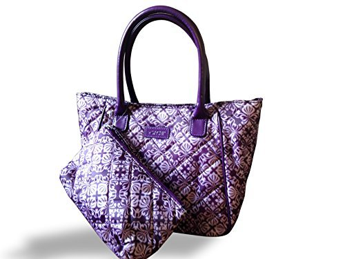 sachi-lunchin-ladies-tote-with-accessory-pouch-purple-scroll-by-sachi