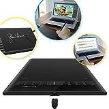 XP-PEN Star03 10x6' Tableta Gráfica de Dibujo con Lápiz sin Baterías con 8 Teclas de Acceso rápido (Negro)