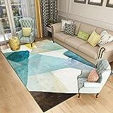 YU&AN Haushalt Dauerhaft Matten,Bereich Decke Moderne Indoor Matten Für Schlafzimmer Bay-Fenster Coffee Table Wohnzimmer-P 120x160cm(47x63inch)