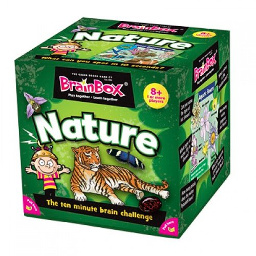 Green Board Games - BrainBox Naturaleza (importado de Inglaterra)