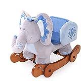Labebe Schaukeltier Elefant mit Rädern