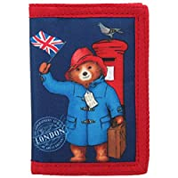 New Paddington Bear Wallet Merchandise. Ideal for School, Holidays or Days Out!
