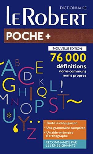 Dictionnaire Le Robert de poche plus 2019
