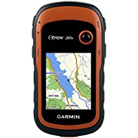Garmin eTrex 20x Outdoor Handheld GPS Unit with TopoActive Western Europe Maps, Black/Orange