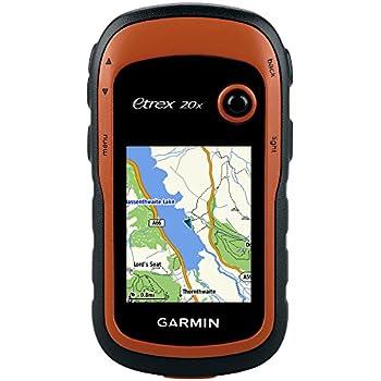 Garmin eTrex 20x - GPS de Randonnée - Cartographie TopoActive Europe de l'Ouest Préchargée - Orange