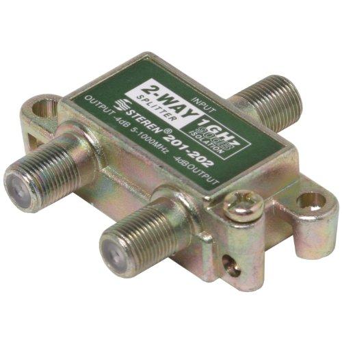 Steren 201-202 1GHz 90dB 2-Way Splitter (Steren Splitter)