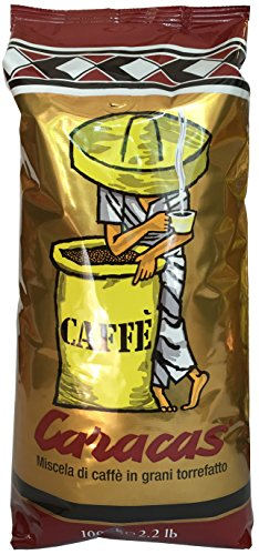 Caffè Corsini Caracas Oro,Kaffeebohnen Italienischer Espressokaffee (1000g)
