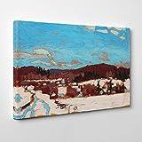 BIG Box Art Tom Thomson Early Spring Canvas Print, Multi-Colour, 30 x 20-Inch/76 x 50 cm