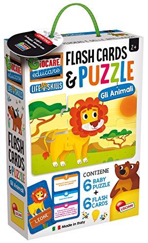 Lisciani Giochi Baby Puzzle y Flash Cards Los Animales,, 72675