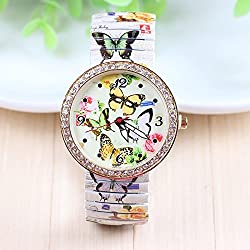 New Arrival Fashion Watch Butterfly Stainless Steel Watch For Women Dress Watches 1piece/lot BW-SB-789