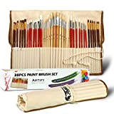 Artify 38 Pcs Paint Brushes Art Set for Acrylic...