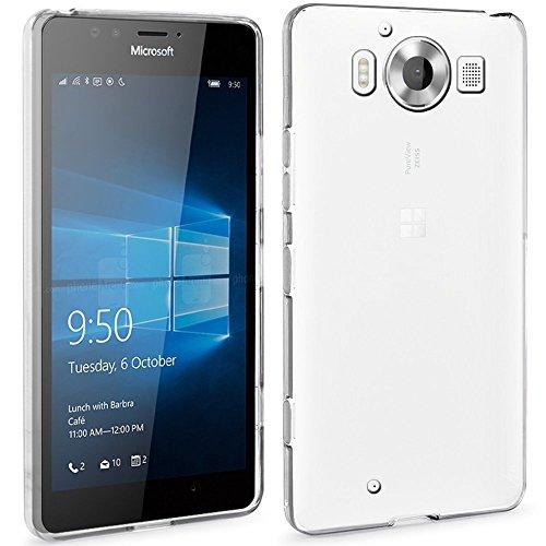 microsoft-lumia-950-custodia-ivoler-soft-tpu-silicone-case-cover-bumper-casocristallo-chiaro-estrema