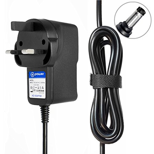 t-power für 7,5 V Crosley cr8006 a cr8006 a-gr cr8006 a-or cr8006 a-bl cr8006 a-tu cr8006 a-pi Songbird Radio Wecker Ersatz AC DC Adapter Schaltnetzteil Crosley Elektronik