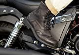 halcón Bota Moto Touring « Aviator » Marrón 42 EU marrón
