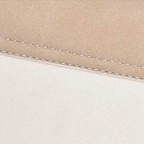 Koreanische Version Einfache Wilde Schulter Diagonale Persönlichkeit Matte Haut Kleine Quadratische Tasche,Blue Brown