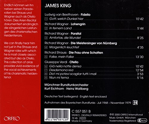 James King / Airs d'Opéras