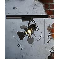 Spotlights à tête unique LED Éclairage de piste Projecteur de mur personnalisé personnalisé Spotlights ( Couleur : A )