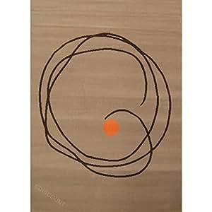 PARADISE Tapis de salon 80x150 cm marron/taupe