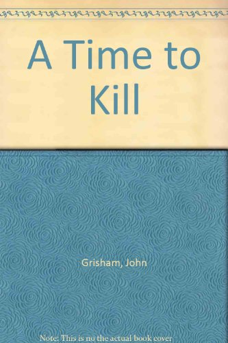 Book cover for A Time to Kill