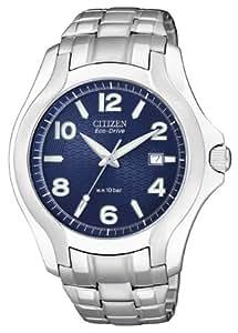 Citizen Herren-Armbanduhr Analog Quarz Edelstahl BM6630-51M