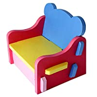 Outgeek EVA Foam Table and Chair Kids Furniture Toy Easy Assembly