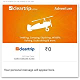 Upto 20% off||Cleartrip Local Adventure - Digital Voucher||Use Promocode CLEARADV at checkout