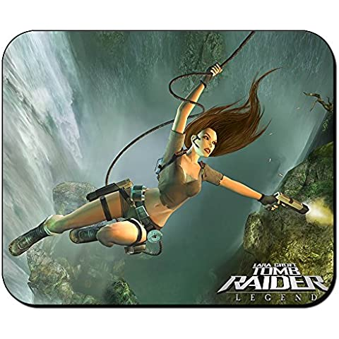 Tomb Raider Legend Lara Croft Alfombrilla Mousepad PC