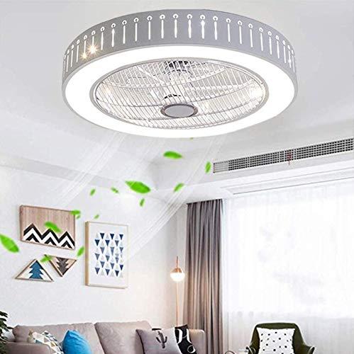 JINWELL Ventilador Luz de Techo Moderna y Creativa Luz de Techo LED...