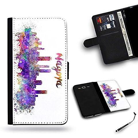 LVSPG Case Phonecell Gift / libero Stylus Protettiva Cassa Pelle Portafoglio Custodia Caso Huawei Ascend (Libero Su Font)