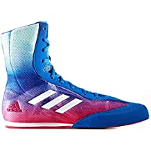 Adidas Cerdo más botas de boxeo - rosa verde azul de la caja UK 11 - EU 46