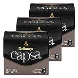 Dallmayr Capsa Espresso Ristretto, Nespresso Kompatibel Kapsel, Kaffeekapsel, Espressokapsel, Röstkaffee, Kaffee, 30 Kapseln